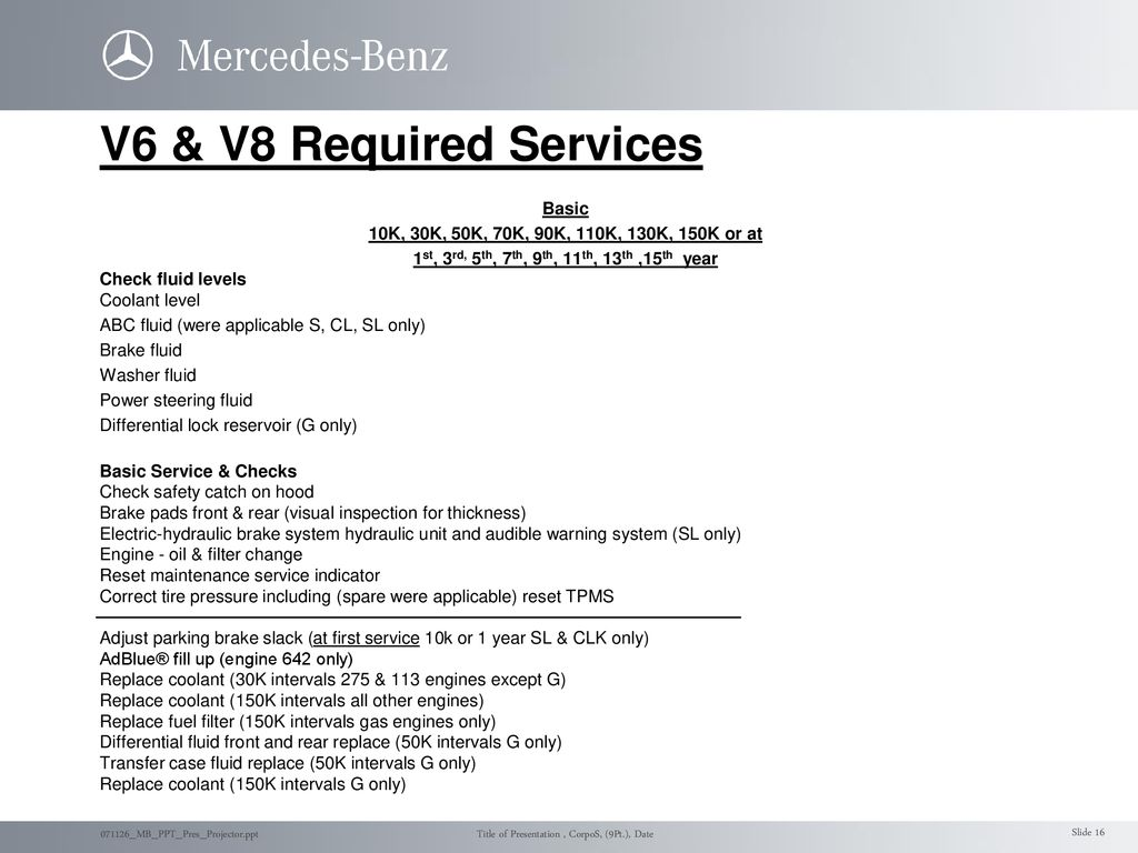 Maintenance Overview Jason Smith Service Engineering - ppt
