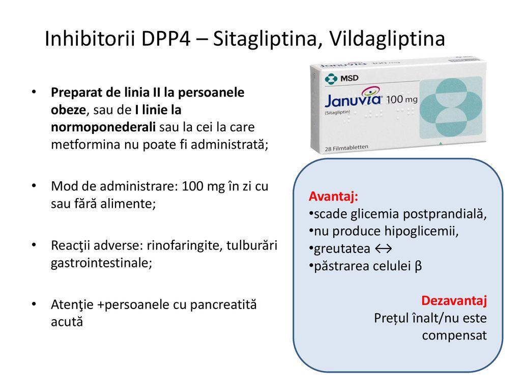 inhibitori ddp4 și pierderea în greutate)