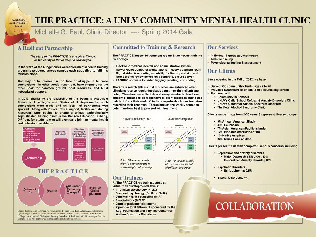 The Practice A Unlv Community Mental Health Clinic Ppt Download