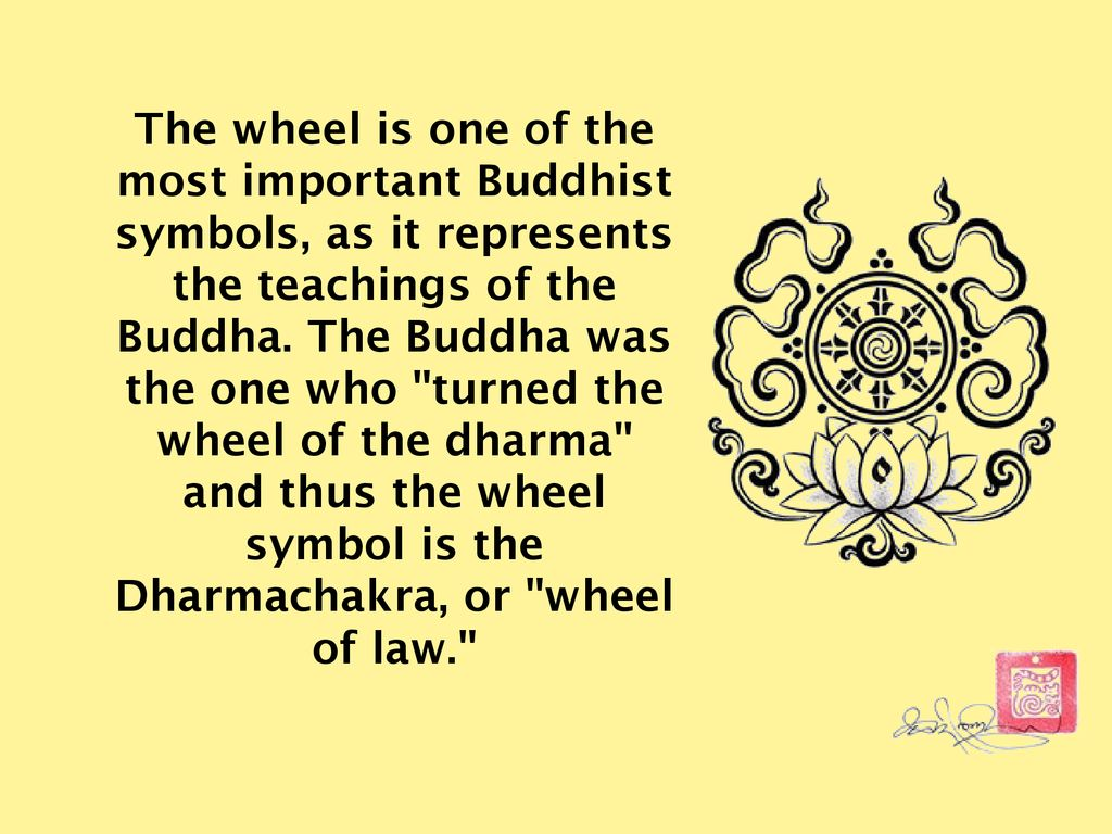 SYMBOLS in BUDDHISM  - ppt download