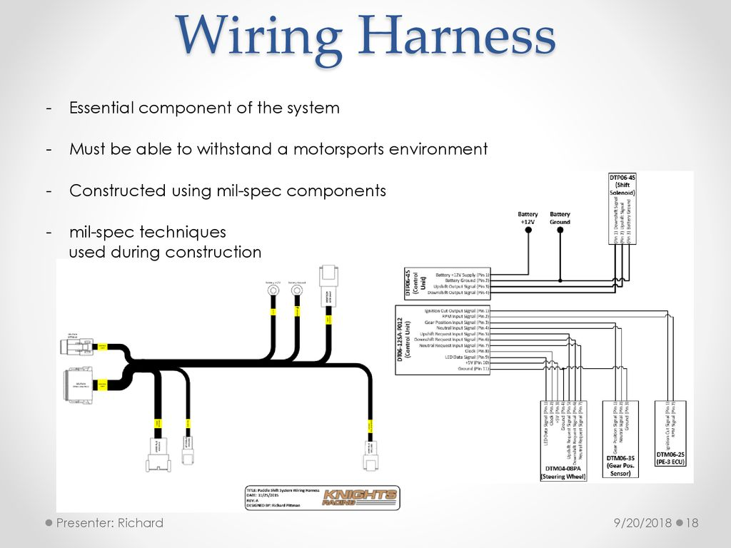 Formula Sae Paddle Shift System Ppt Download Wiring Harness Construction 18