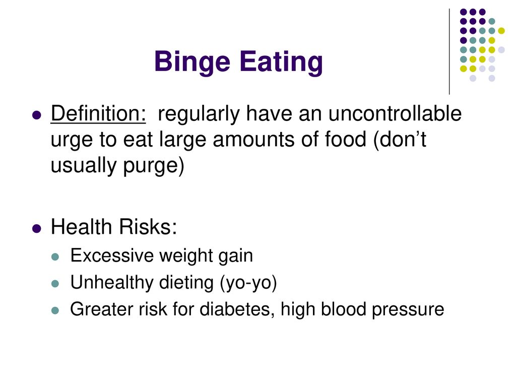 anorexia bulimia binge eating exercise bulimia - ppt download