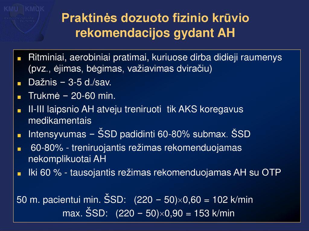 dozuoto ėjimo dėl hipertenzijos hipertenzijos 2 stadijos 2 laipsnio 4 rizikos negalia