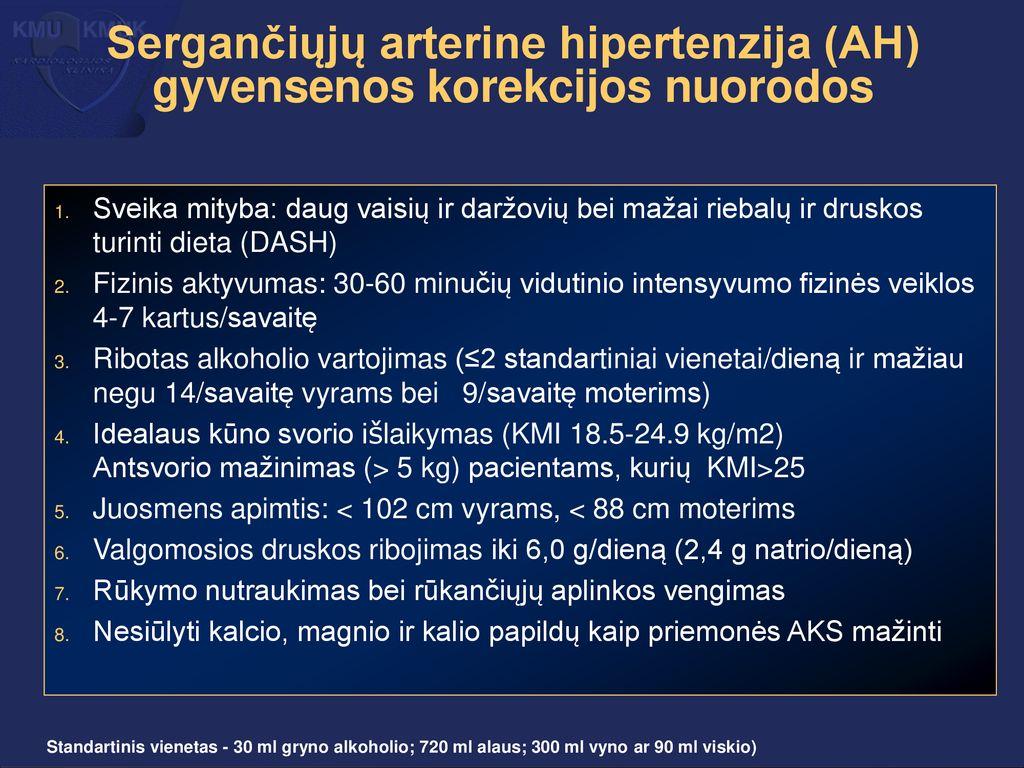 hipertenzijos sakinys hipertenzija laipsniais