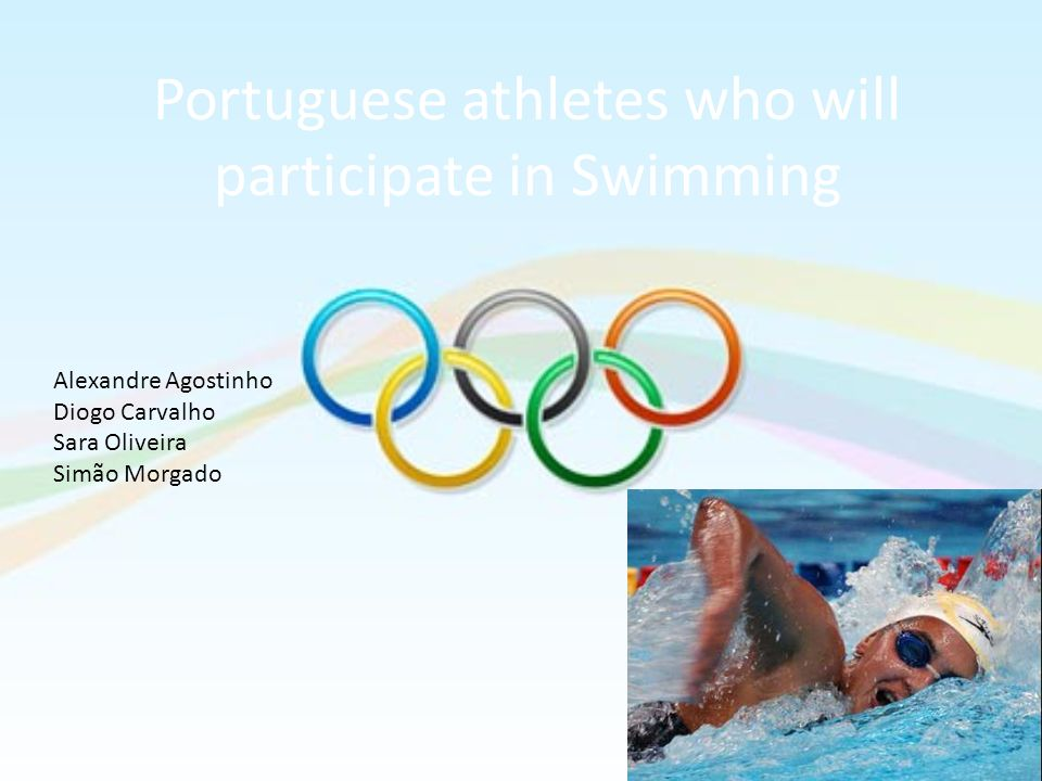 Portuguese athletes who will participate in Swimming