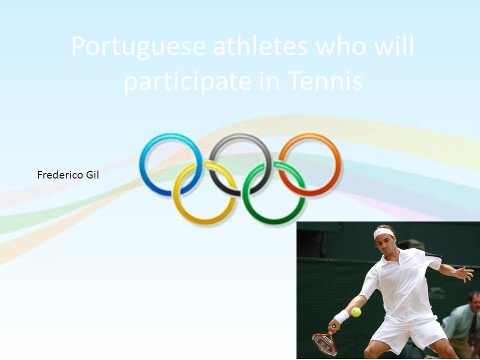 Portuguese athletes who will participate in Tennis
