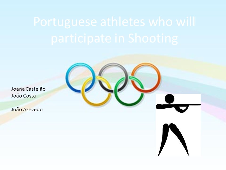 Portuguese athletes who will participate in Shooting