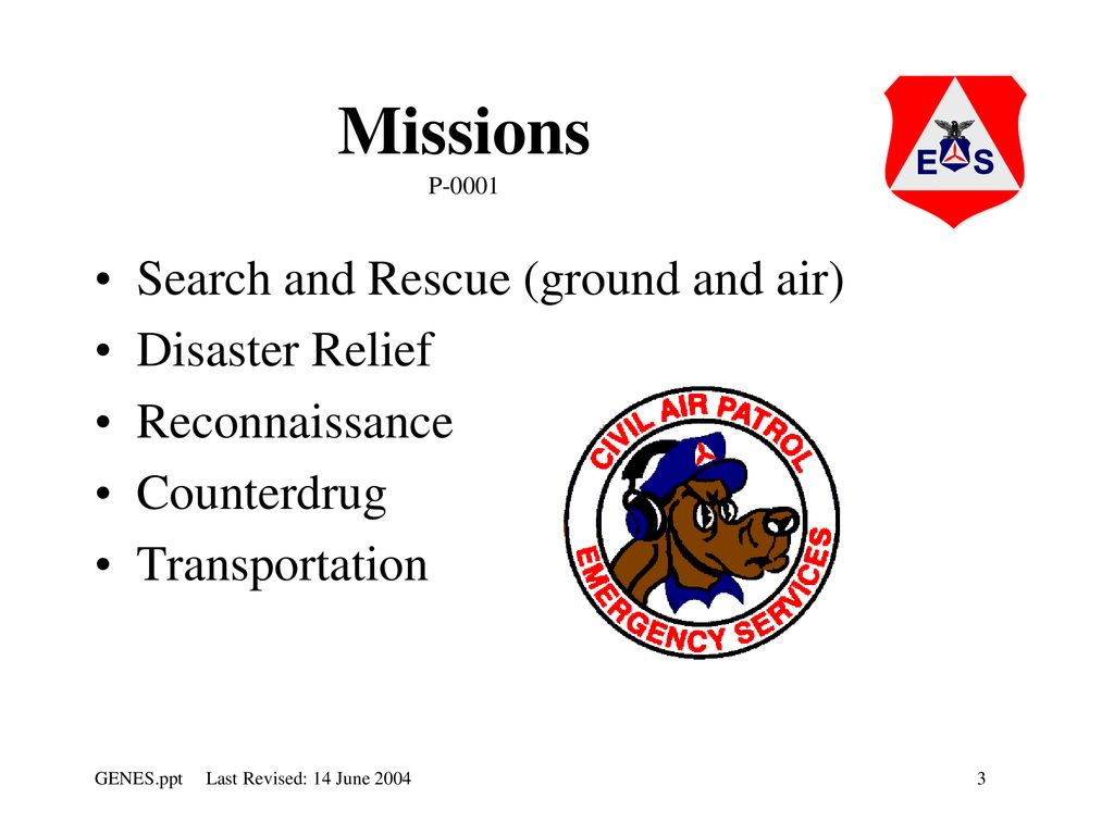 SAR-WE HAVE A MISSION