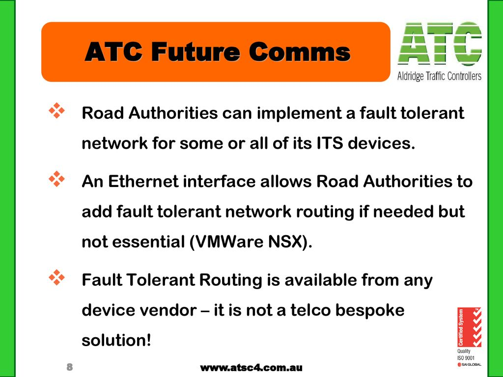 ATC Future Comms Technology - ppt download