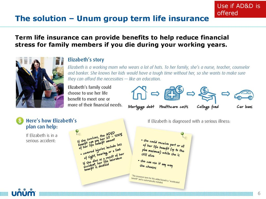 Group Voluntary Term Life Insurance Ppt Download