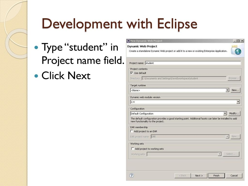 Student Web Application Tutorial - ppt download