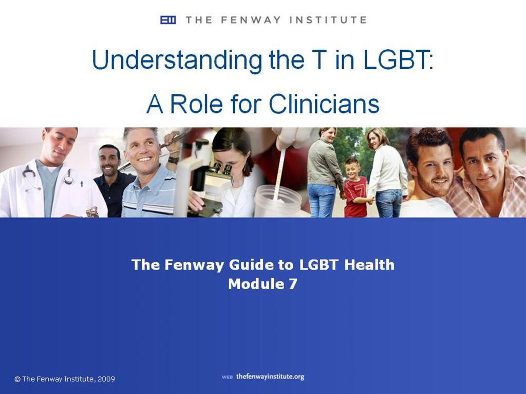 The T in LGBT stands for transgender: an umbrella term with