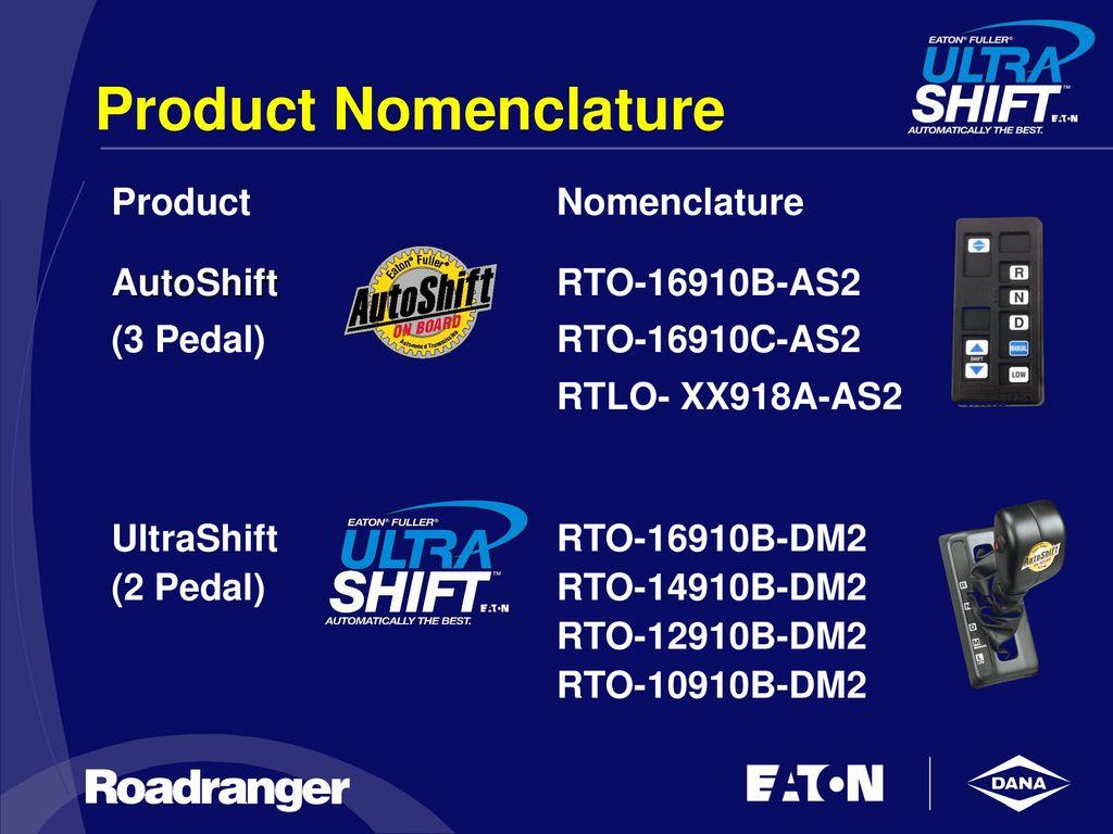 The Eaton® Fuller® UltraShiftTM 10-speed - ppt download
