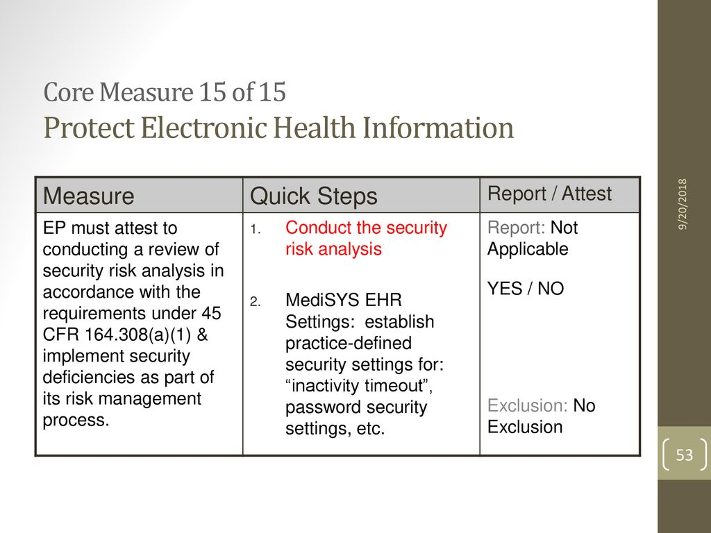 MediSYS EHR About Meaningful Use - ppt download