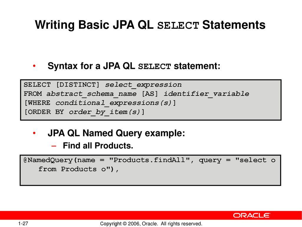 Java EE Web-Application with JDeveloper 10gR3 - ppt download