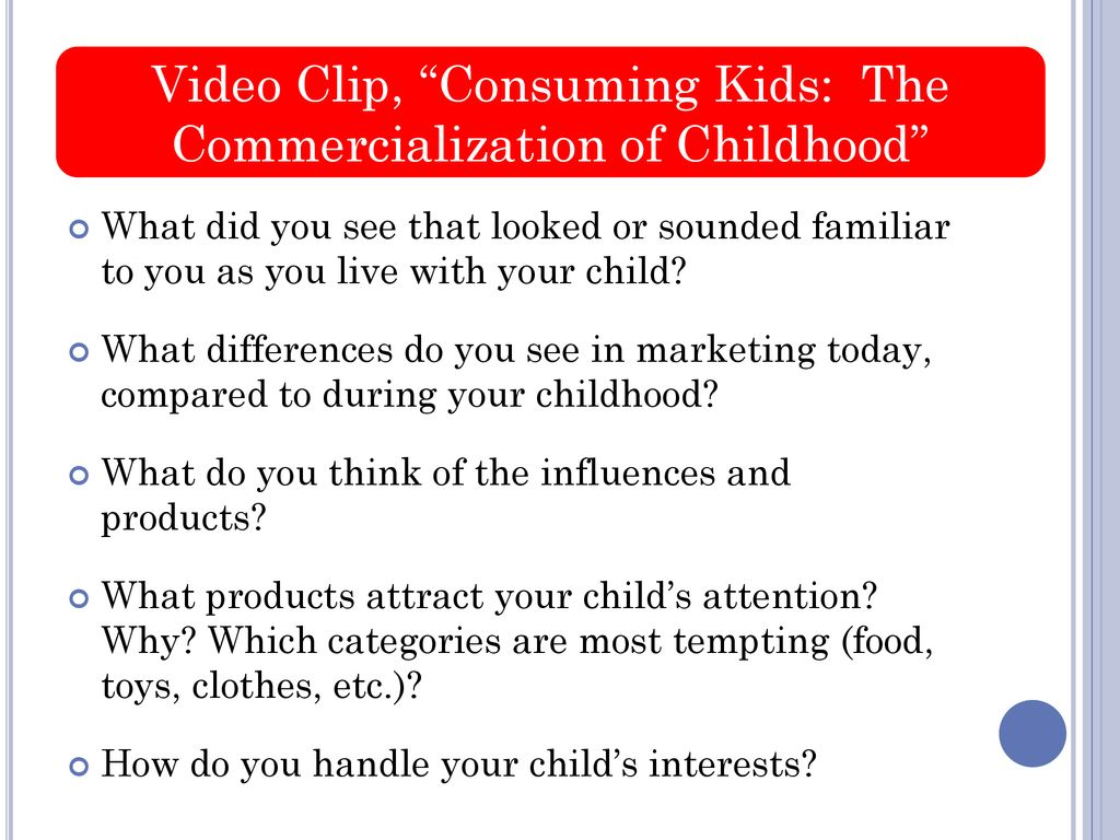 consuming kids video
