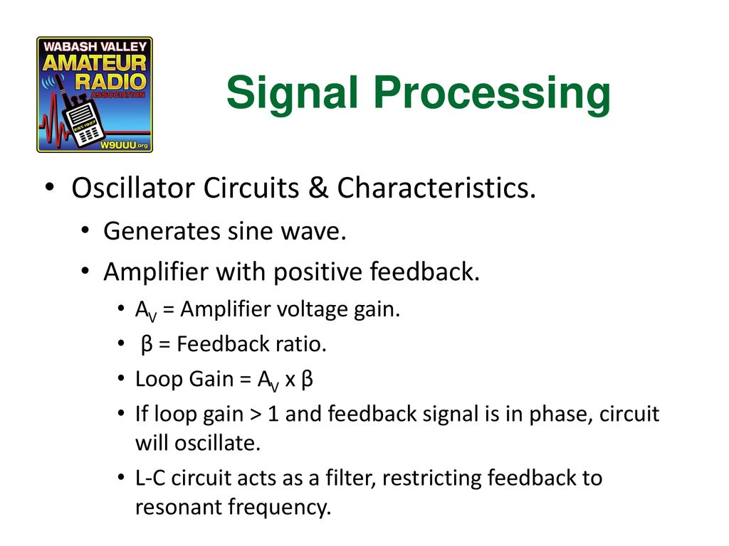 Chapter 6 Electronic Circuits Ppt Download Amplifiercircuit Theoscillatorcircuitoftheradiofrequency Signal Processing Oscillator Characteristics