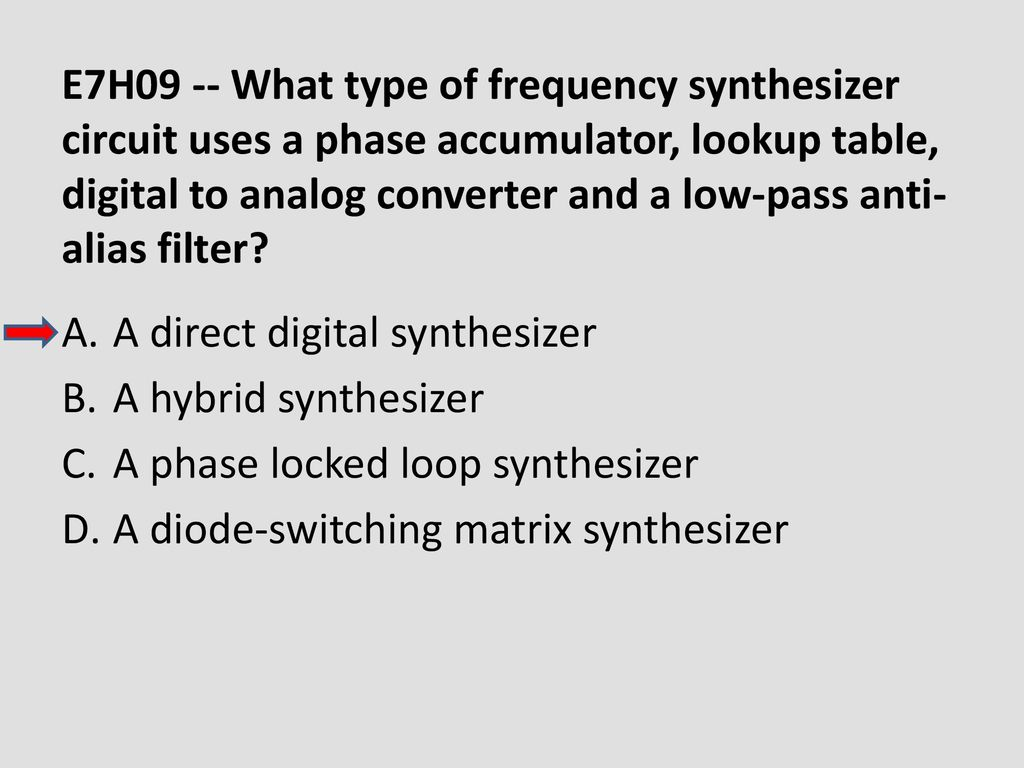 Chapter 6 Electronic Circuits Ppt Download Circuit Diode Switched Synthesiser E7h09 What Type Of Frequency Synthesizer Uses A Phase Accumulator Lookup Table