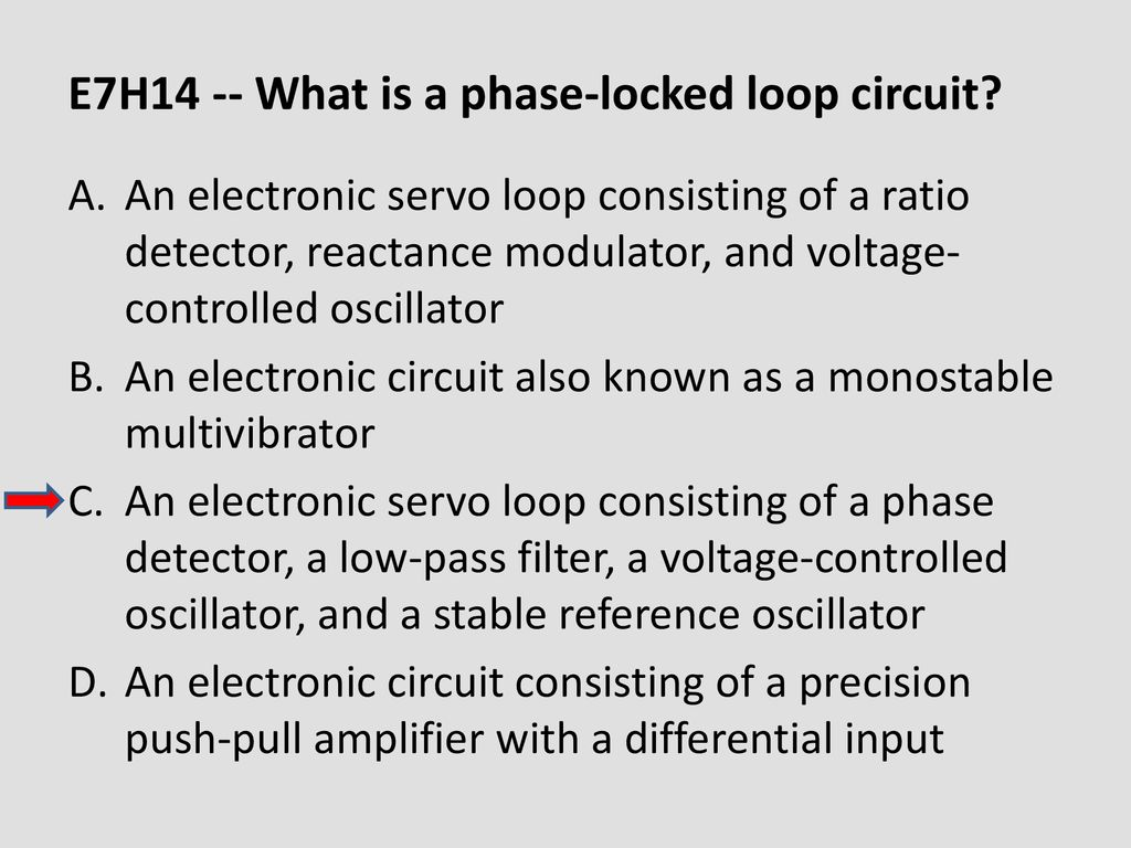 Chapter 6 Electronic Circuits Ppt Download Voltagecontrolled Oscillator Circuit Signalprocessing E7h14 What Is A Phase Locked Loop