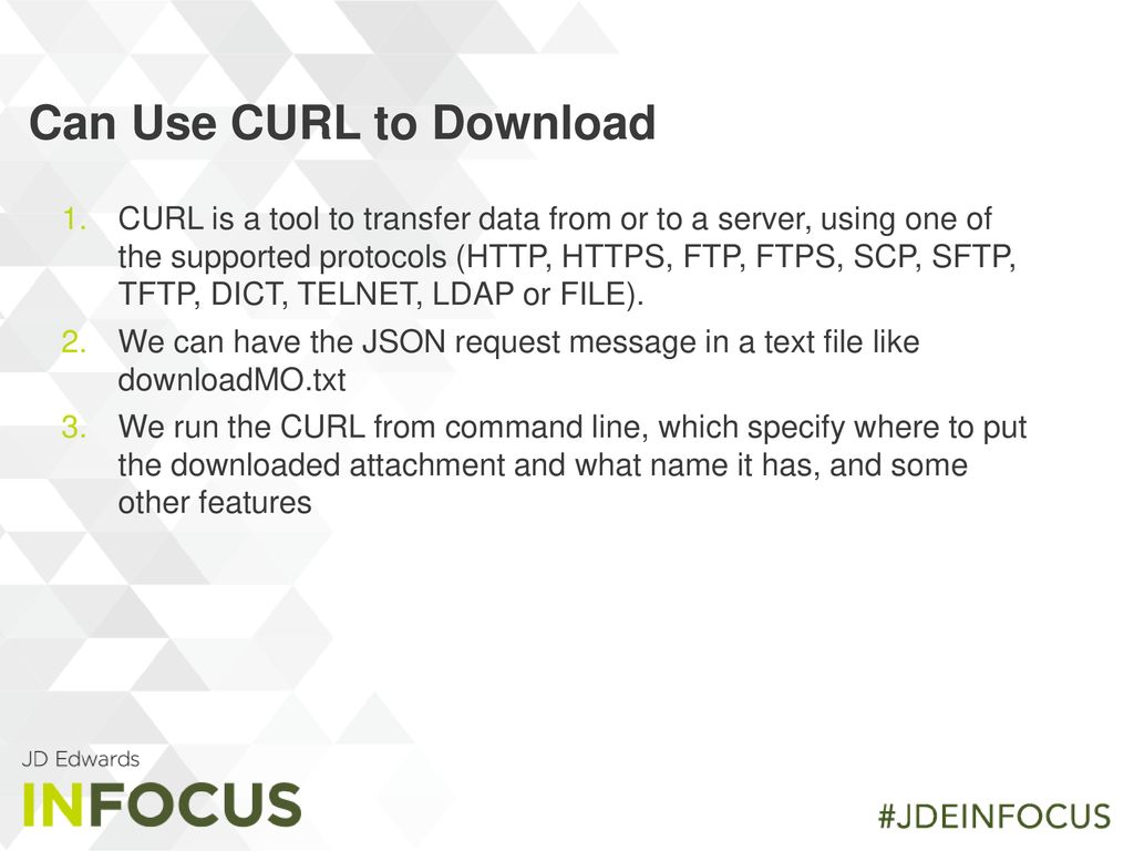 Defining JDE APIs Using the AIS server - ppt download