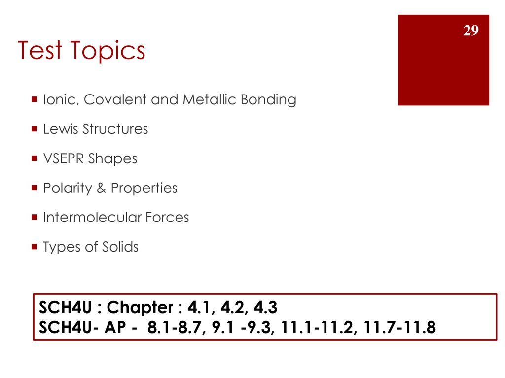 Bonding and Structure in Solids - ppt download