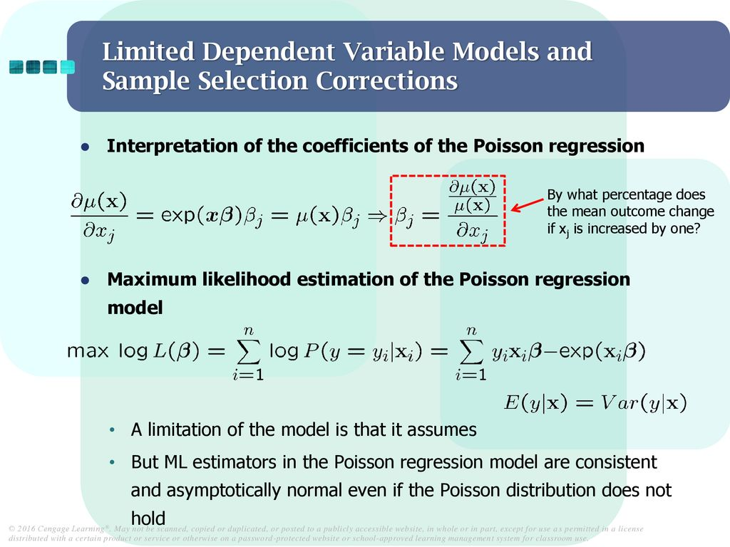 Limited Dependent Variable Models and Sample Selection