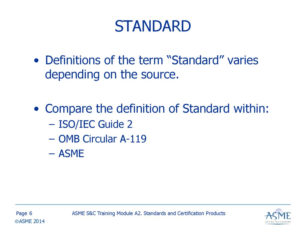 Standards And Certification Training Ppt Download