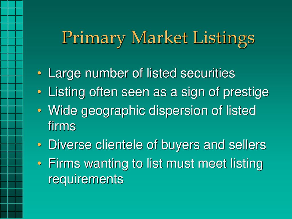 ORGANIZATION AND FUNCTIONING OF SECURITIES MARKETS - ppt download