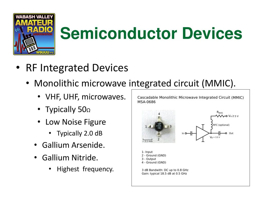 Chapter 5 Components And Building Blocks Ppt Download Monolithic Microwave Integrated Circuit Videos 62 Semiconductor Devices Rf