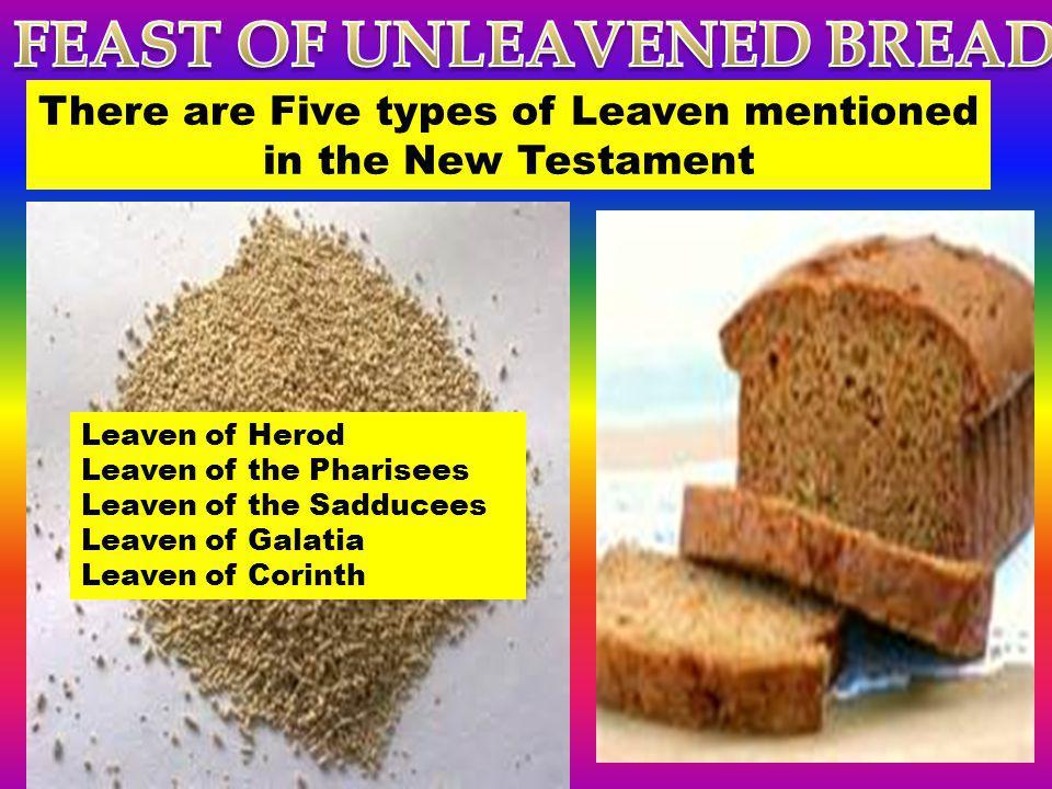 FEAST OF UNLEAVENED BREAD - ppt download