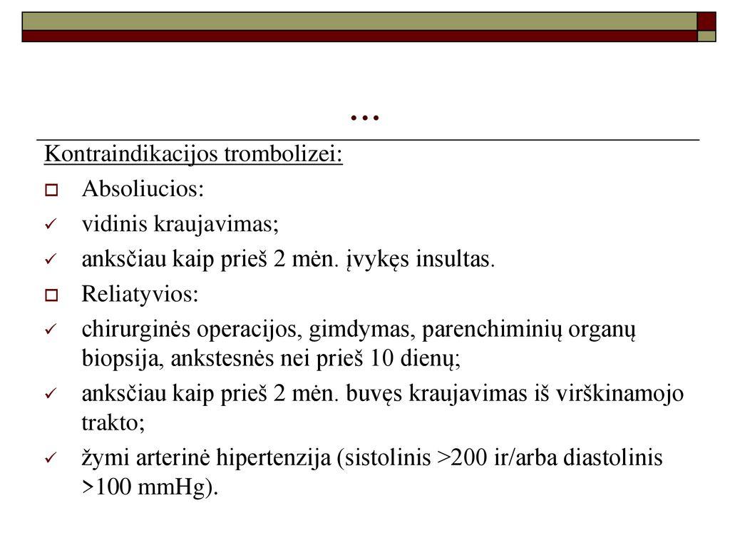 refrakterinė hipertenzija.