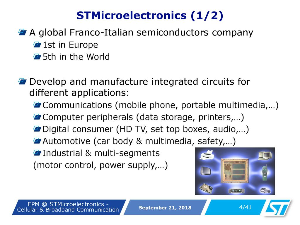Epm Stmicroelectronics Ppt Download Integrated Circuits For Broadband Communications 4