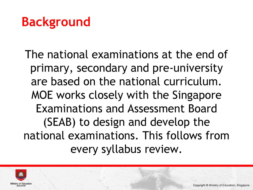Mathematics Curriculum Framework of Singapore - ppt download