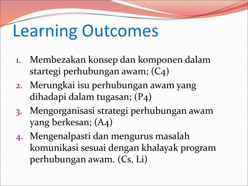 Strategi Perhubungan Awam Ppt Download
