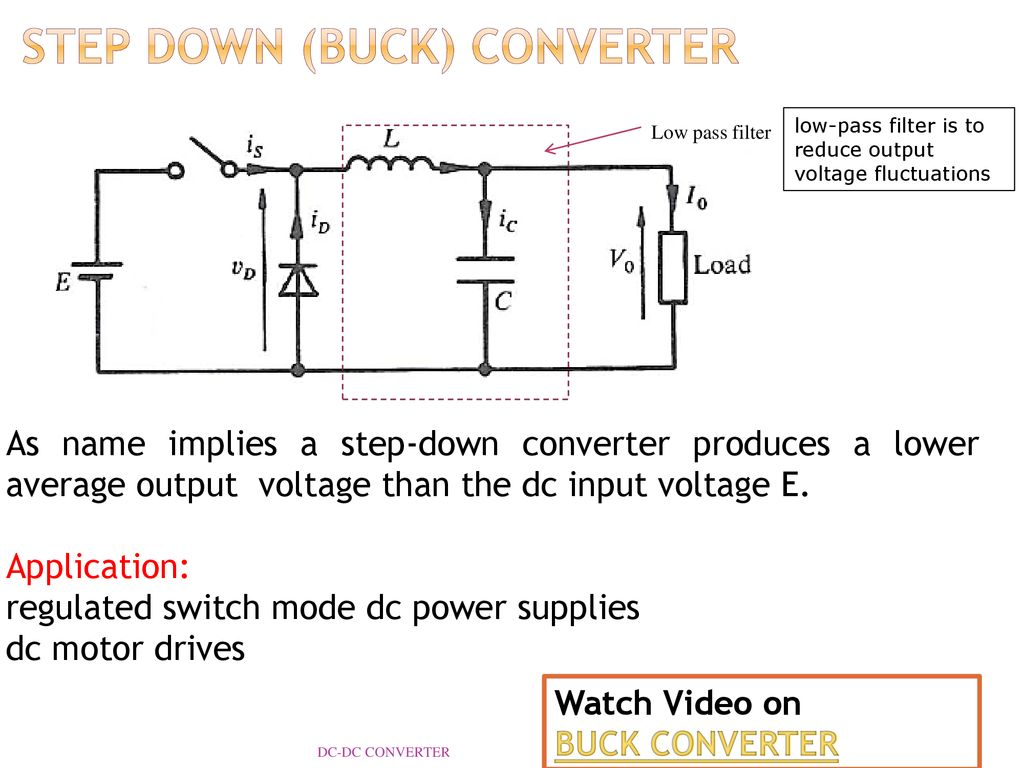 Dc Converter Reference Ppt Download Inductor Requirements For Converters And Filters In Automotive Step Down Buck