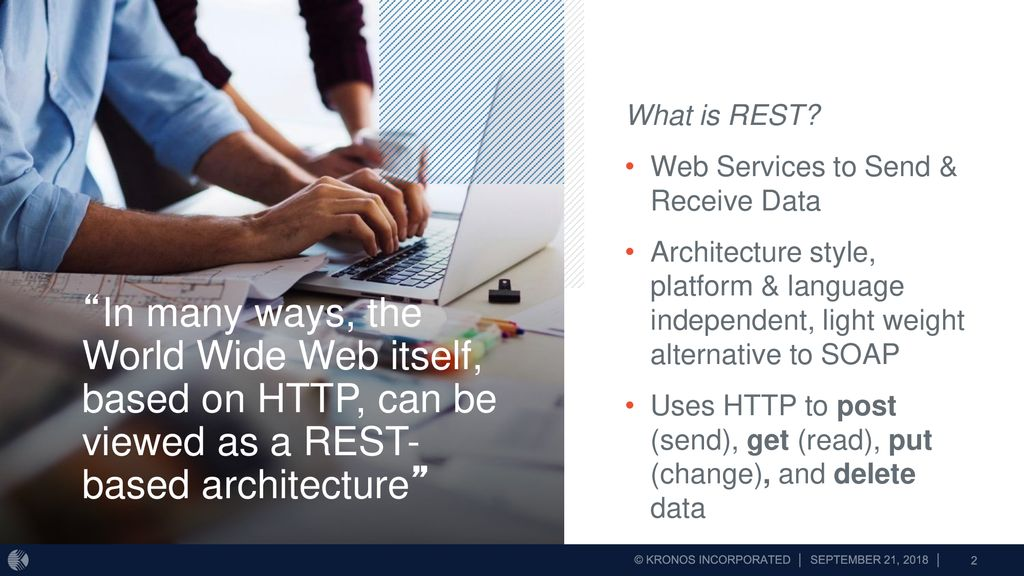 Workforce Ready REST API Overview  - ppt download