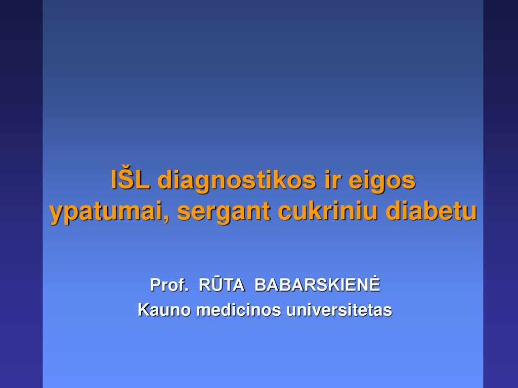 hipertenzija diabeto fone
