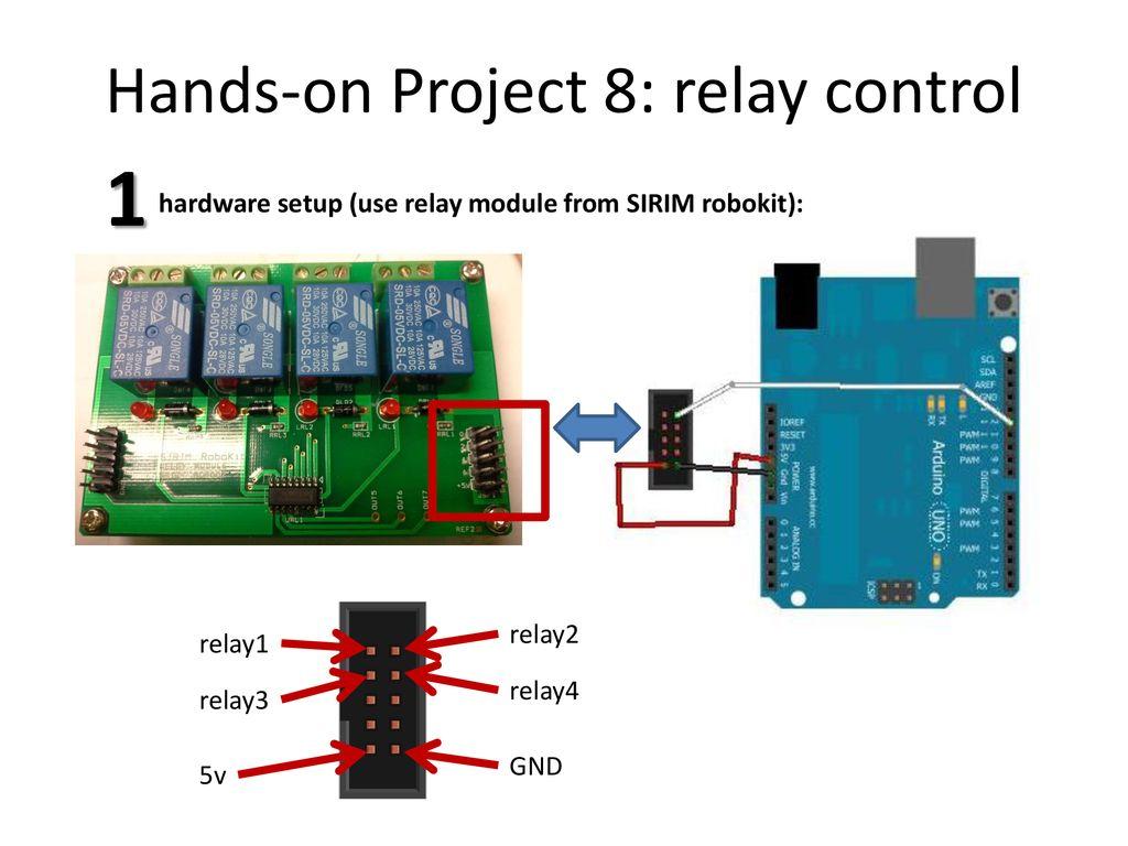 Topics Analog Digital Read Relay Control 7 Segment Buzzer Arduino Hands On Project 8