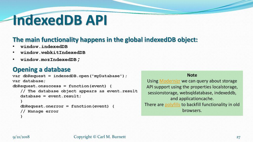 Session V HTML5 APIs – Web Storage - ppt download