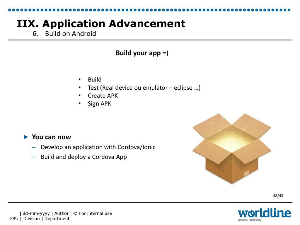 Team : Web & Mobile Framework - ppt download