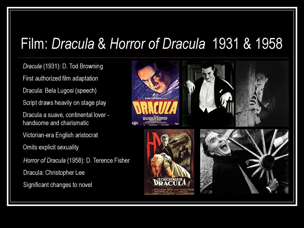 Dracula: History, Myth, and Popular Culture - ppt download
