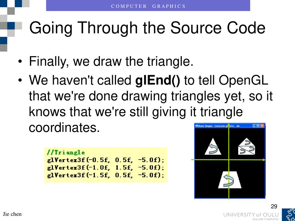 Computer graphic -- Programming with OpenGL 2 - ppt download