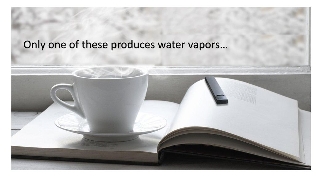 Only one of these produces water vapors…