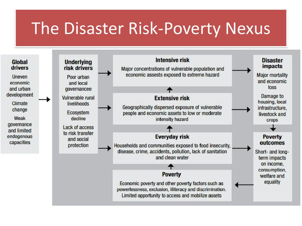 Disasters do not just happen – they result from failures of ...