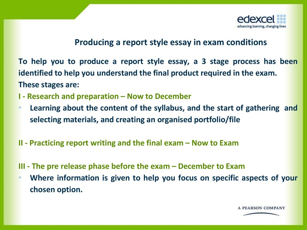 Business Essays Samples Producing A Report Style Essay In Exam Conditions Proposal Essay Format also High School And College Essay Geo Unit  Geographical Research  Ppt Download Essay About English Class
