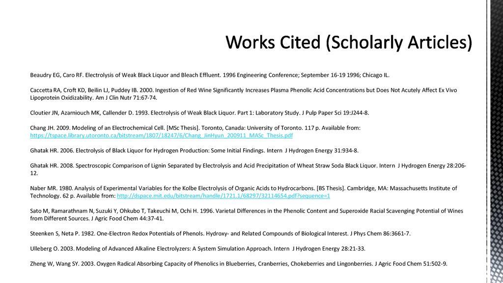 Final Undergraduate Research Report - ppt download