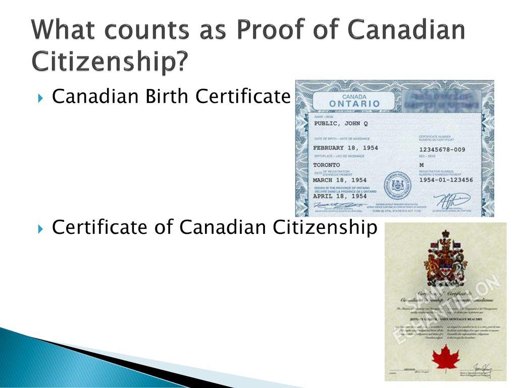Canadian Passport Ppt Download
