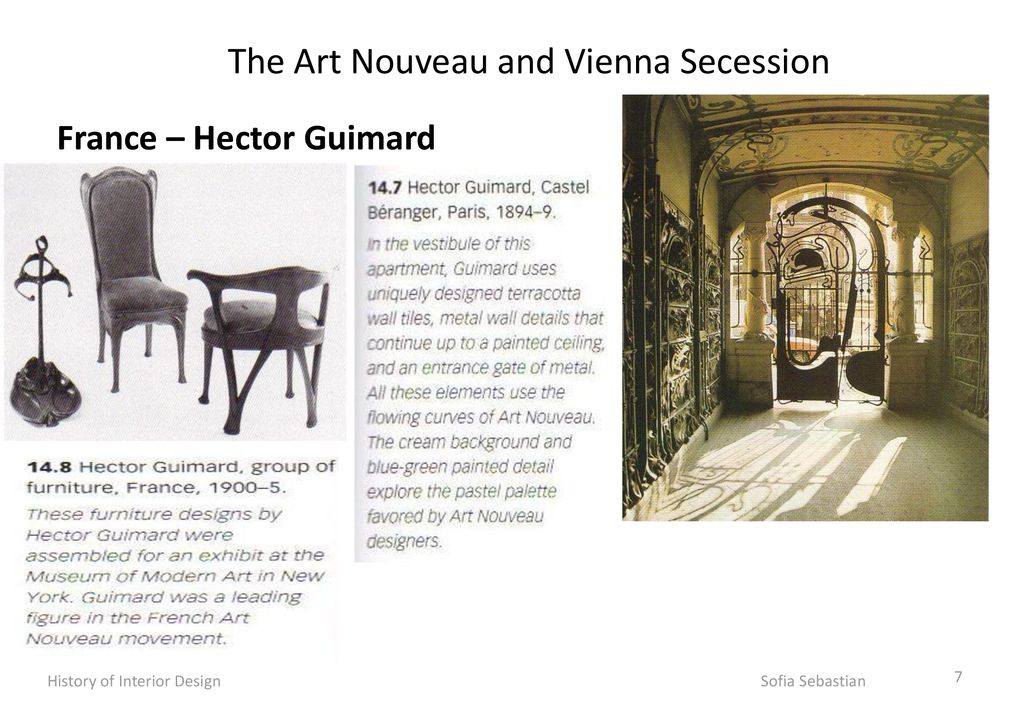 The Art Nouveau And Vienna Secession Ppt Download
