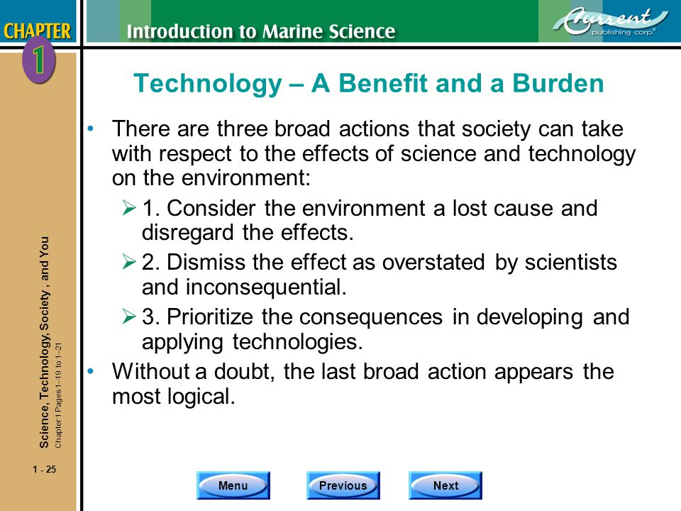 causes of science and technology to the environment