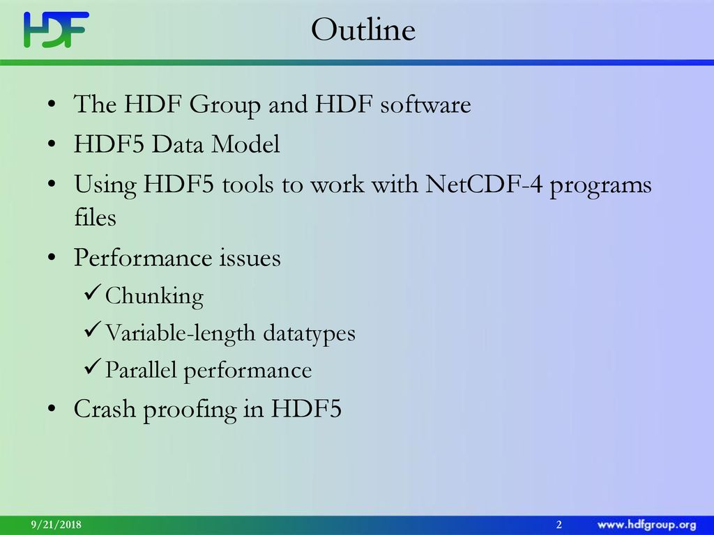 What NetCDF users should know about HDF5? - ppt download